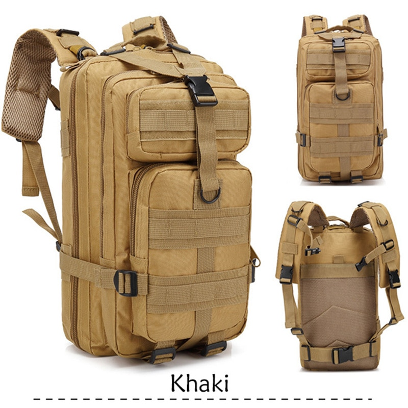 35L capacidad ejército hombres táctico militar Mochila GRANDE impermeable al aire libre deporte senderismo Camping caza 3D mochila bolsas para hombres