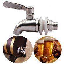 Le plus nouveau robinet de bière de pression de robinet dacier inoxydable pour le fermenteur de brassage à la maison