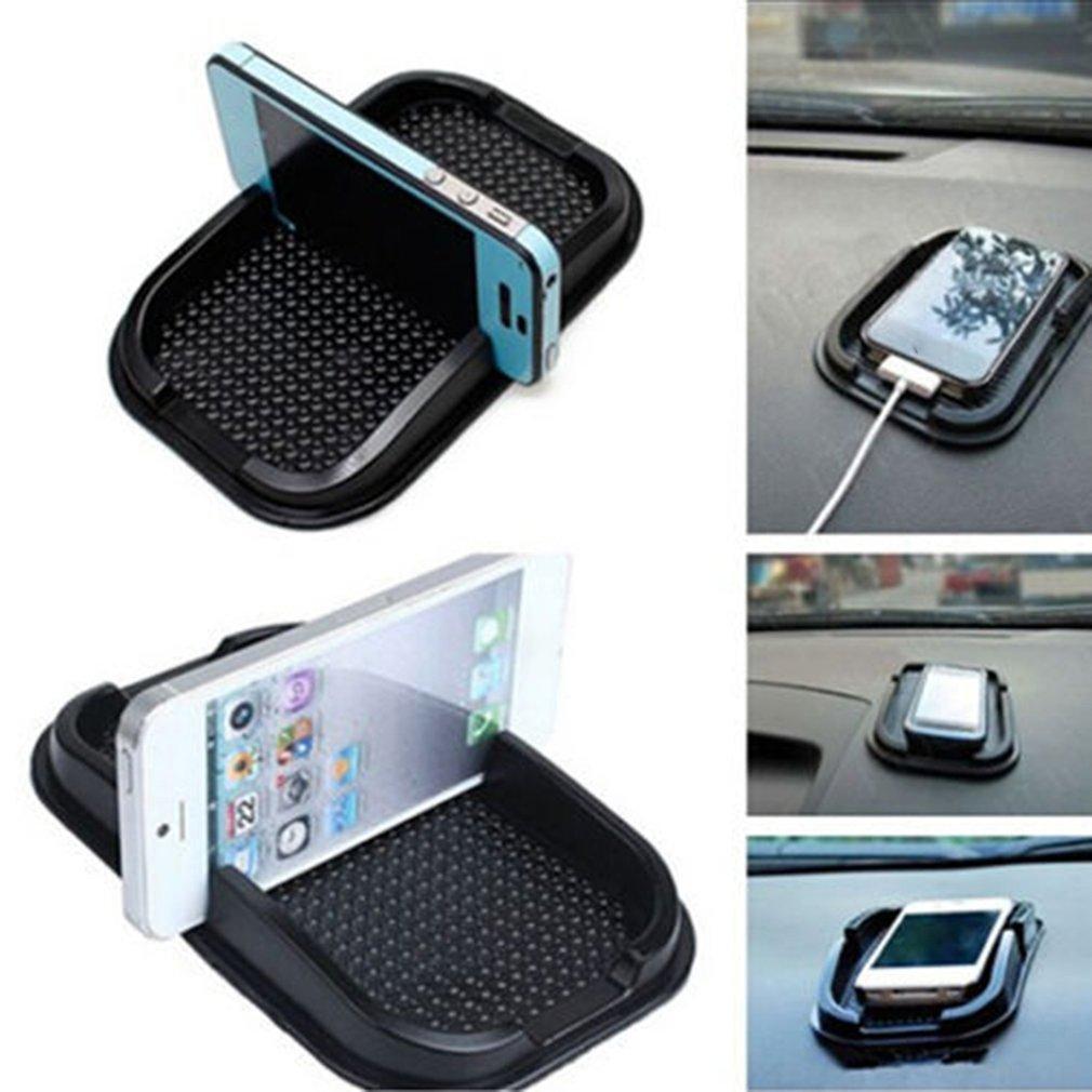 Auto Dashboard Sticky Pad Mat reutilizable auto montura para teléfono móvil antideslizante Gadget teléfono móvil Gps 1 pieza