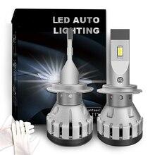 Q3 오류 무료 LED 램프 자동 H7 LED CANBUS H8 H11 H4 9012 CAN 버스 디코더 경고 canceller 헤드 라이트 전구 안개 조명