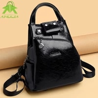 fashion simplicity womens backpack luxury design shoulder bags 2021 new high quality pu leather all match travel women handbag