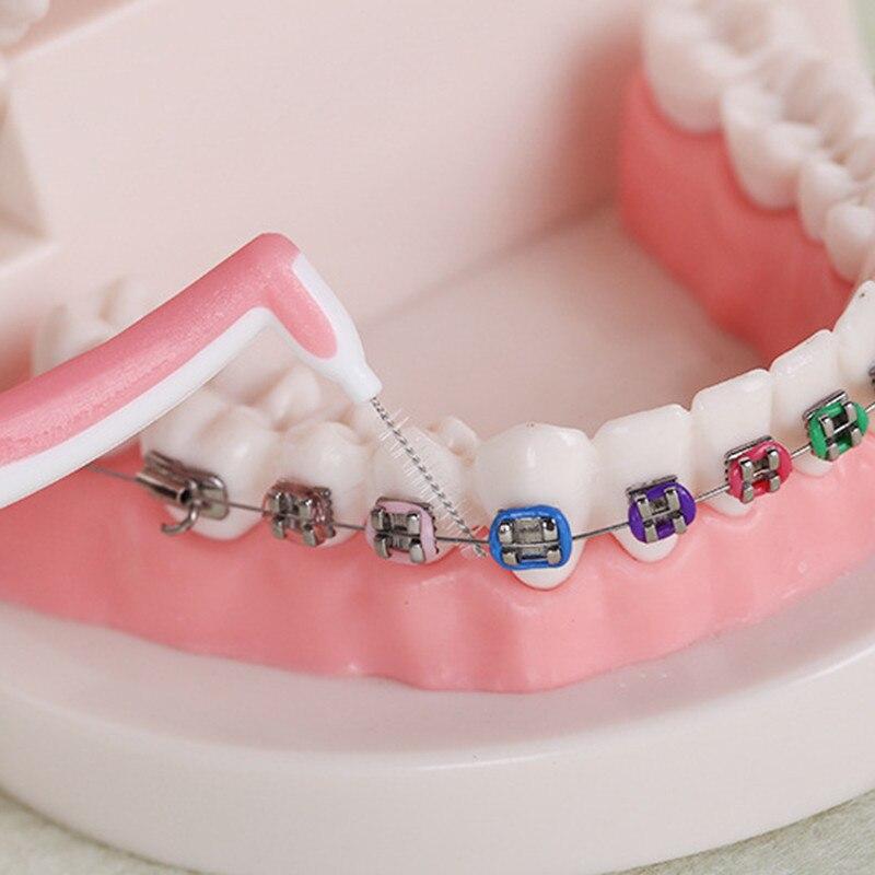 2019 1 Uds./Kit de cuidado Dental bucal cepillo de limpieza de alta resistencia mango largo