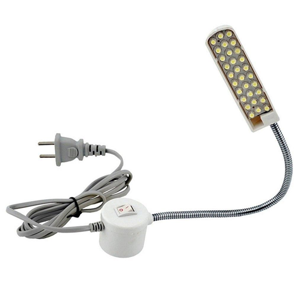 Супер яркий швейный светильник для швейной машины US 30LED, Многофункциональный гибкий светильник для рабочей лампы для верстака, токарного станка, сверлильного станка
