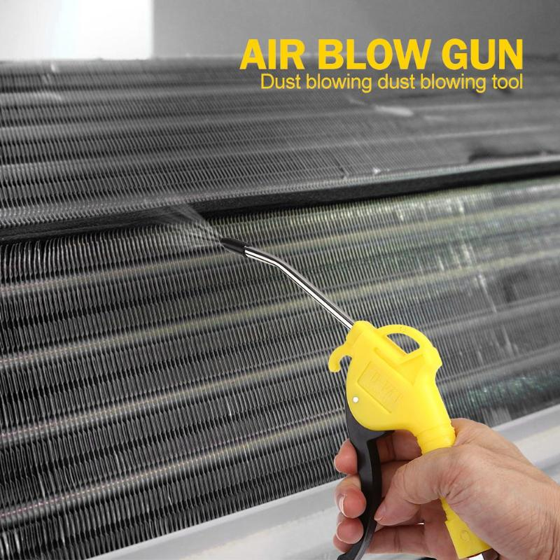 Pistola de soplado de aire, pistola de polvo, pistola, disparador de pistola, compresor, removedor de polvo, herramienta de limpieza 2019