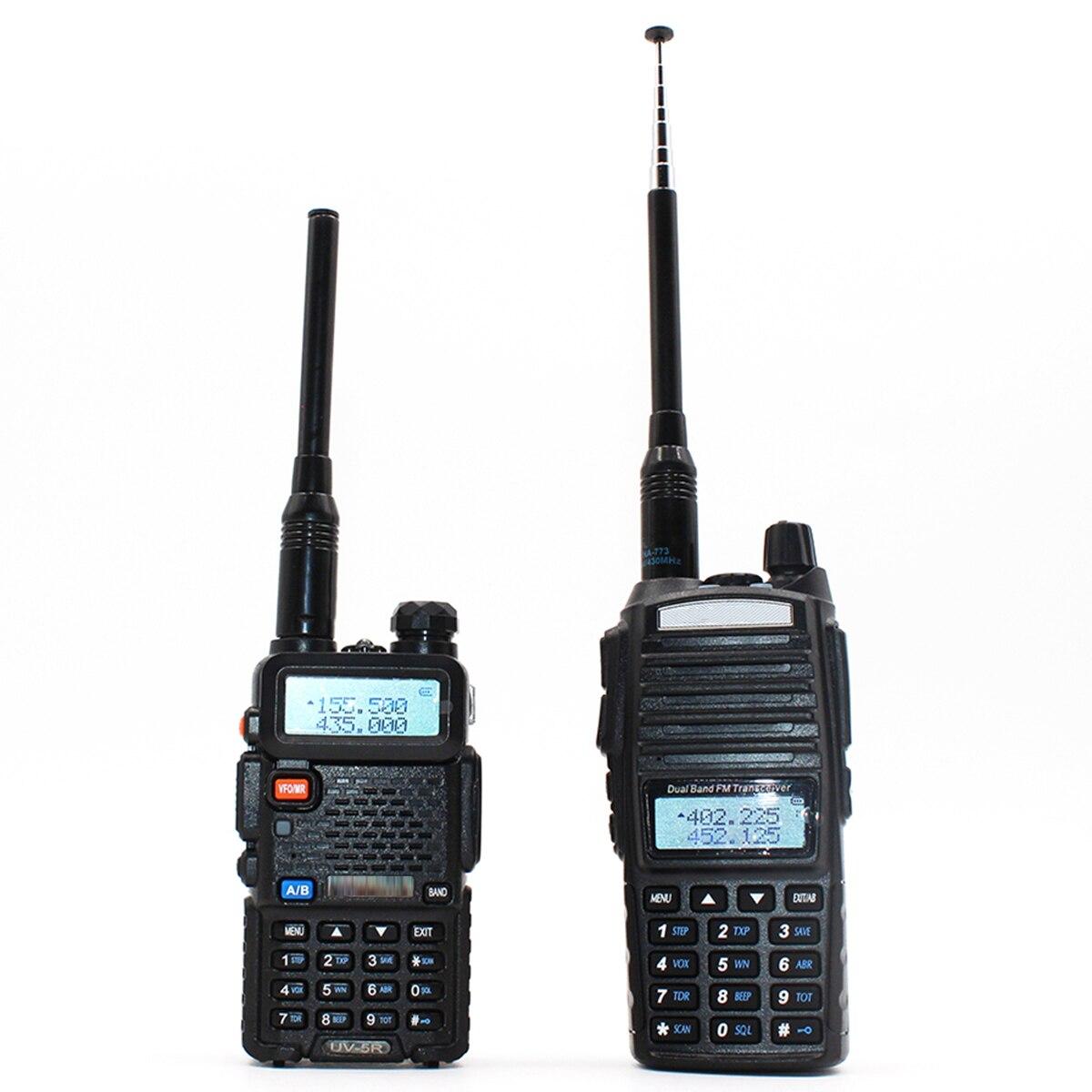 2020 nova sma fêmea vhf uhf dupla banda walkie talkie antena telescópica para baofeng walkie talkie UV-5R UV-82 BF-888S