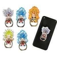Dragon Ball Z Broly ультра инстинкт Гоку телефонный звонок Вегета Gogeta мобильный телефон кольцо 360 градусов смарт держатель подставка