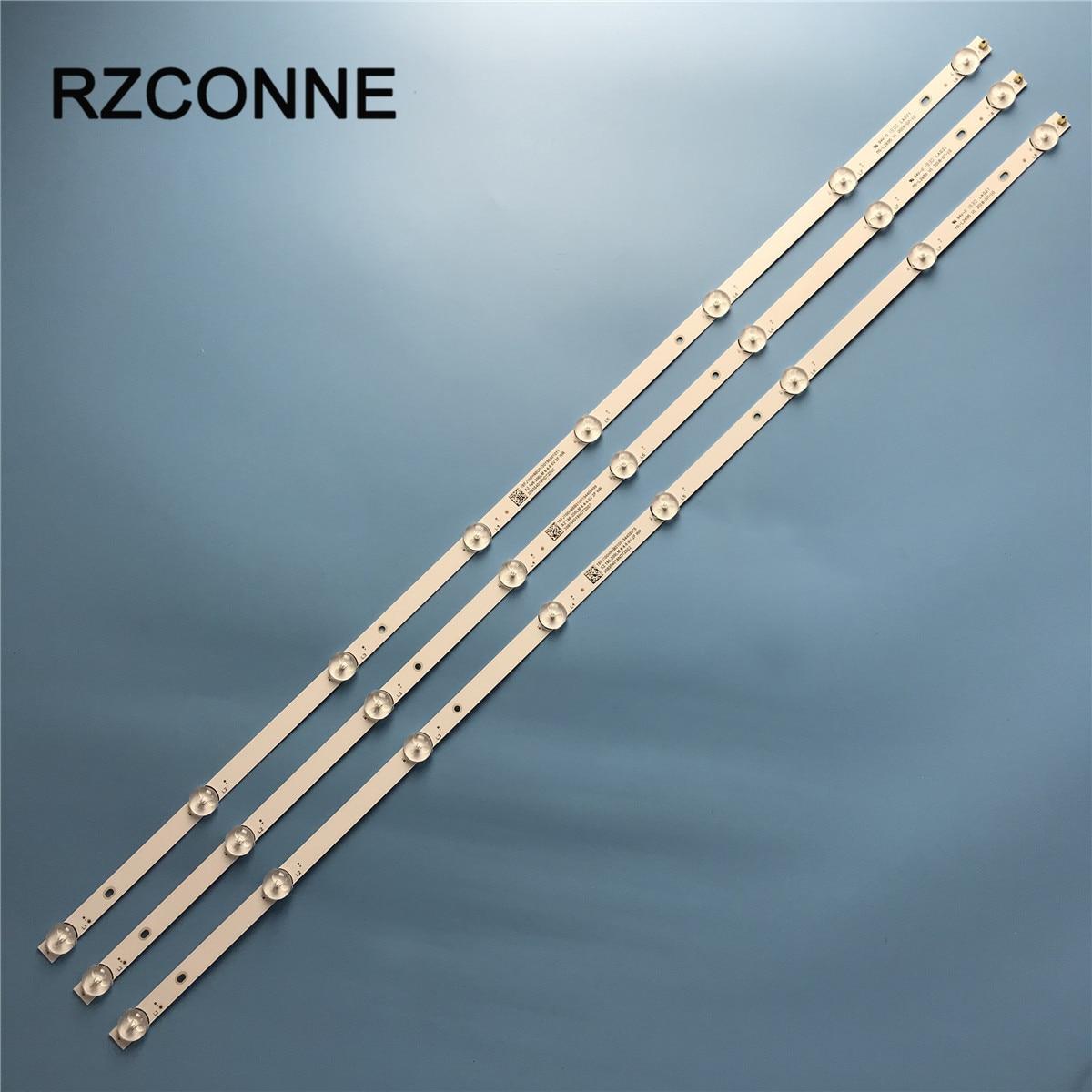 LED الخلفية قطاع 8 مصابيح MS-L2695 V1 Rca Rtv4019sm 6V/LED 750 مللي متر