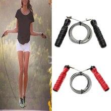 Adjustable skipping rope 2.8M Speed Steel Wire Skipping Jump Rope Crossfit Crossfit  Box Gym Fitnesss Equipment