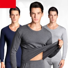Thermal Underwear Sets For Men Winter Thermo Underwear Long Johns Winter Clothes Male Thick Thermal