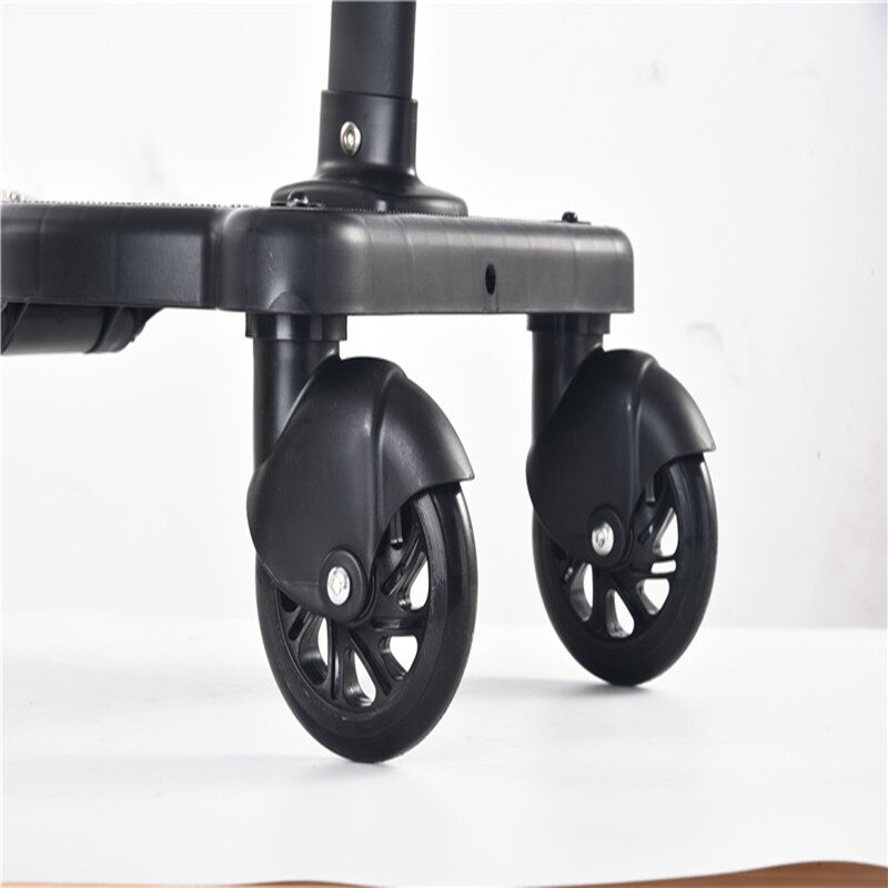 Universal Stroller Pedal Adapter Second Child Prams Auxiliary Trailer Twins Scooter Hitchhiker New Kids Standing Plate with Seat enlarge