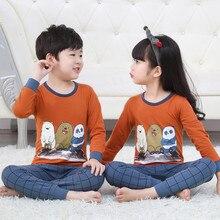 2020 Winter Children Pajamas Unicorn Animal Cartoon Sleepwear Kids Clothes Set Winter Pyjamas Kids Baby Sleepwear For Boys Girls