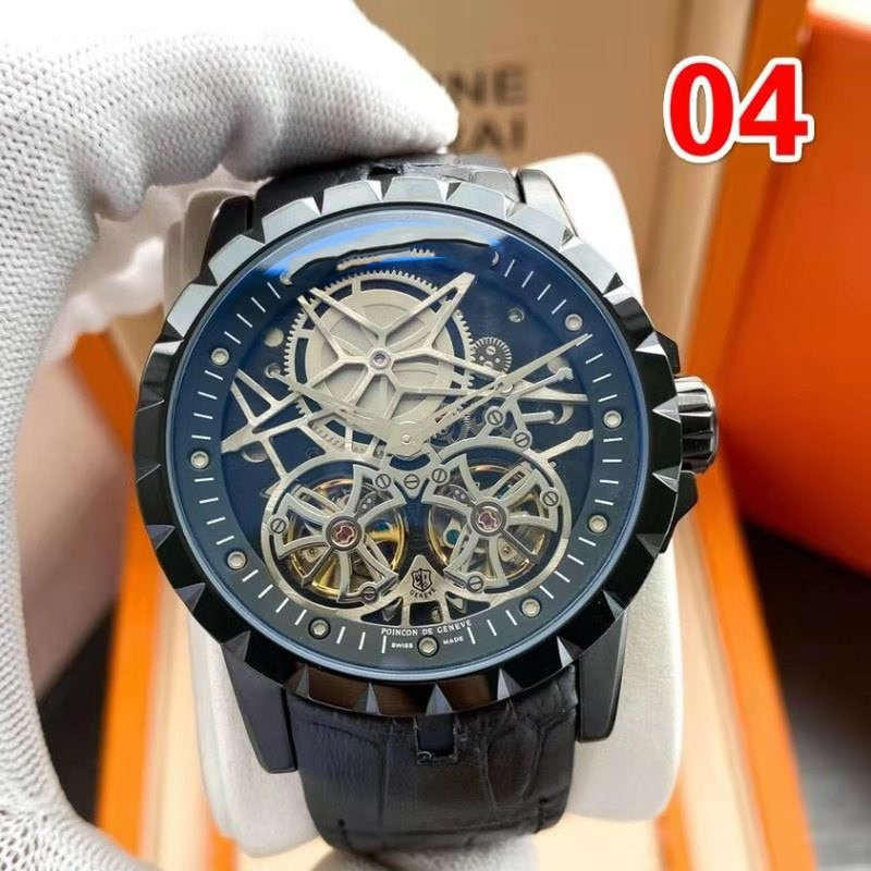 2021 new high-end business men's watch fashion watch personality watch six pin function watch enlarge