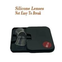 portable 2 piece liquid silicone bifocal reading super light bifocal reading lens stick on presbyopic lenses magnification 1 75