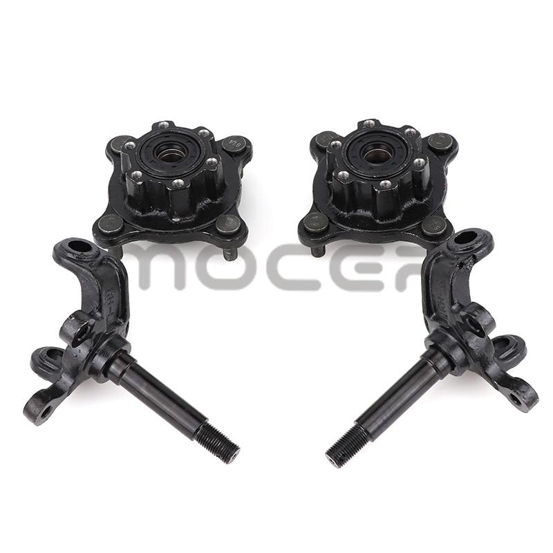 1 pair  big bull ATV accessories Strut Knuckle Spindles with Brake Disc Wheel Hubs fit150cc-250cc Go Kart Buggy UTV Bike Parts