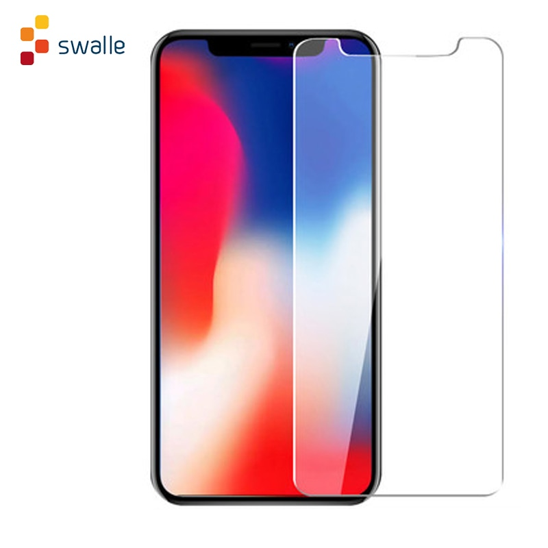 Swalle Tempered Glass protector Glass For Phone 11 Pro MAX XR X XS Ultra-thin Screen Protector Film