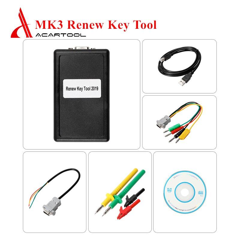 Key Programmer Universal MK3 Renew Key Tool Full Remote Key Unlocking for BMW/Chrysler For Opel for GM Car Remote Key Programmer