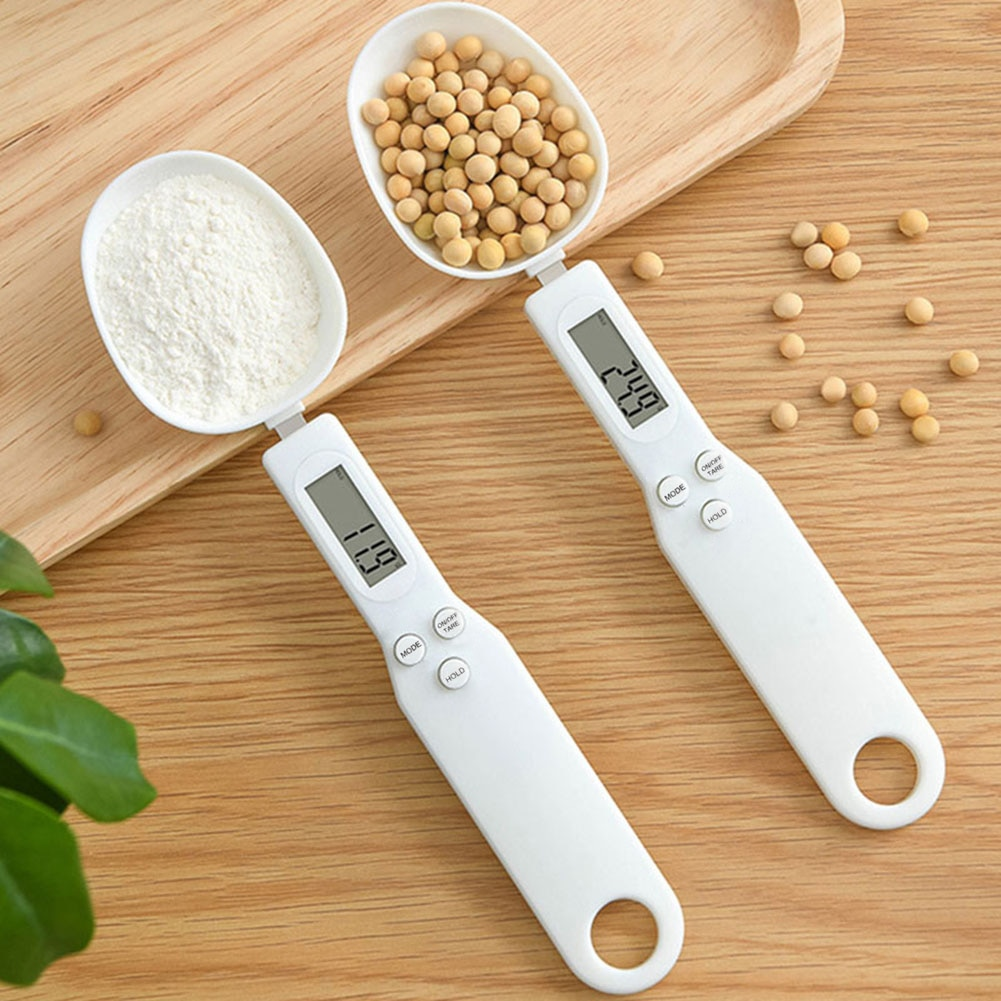 300g/0.1 Practical Measuring Spoon Household Gram Electronic Weight Ingredients Food LCD Digital Sca