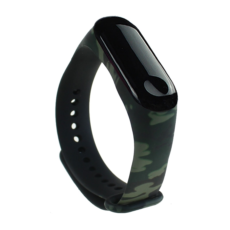 For Xiaomi Mi Band 3 Bracelet Silicone Wrist Strap Watch WristBand Replacement Smart Accessories Wearable Devices Pedometers