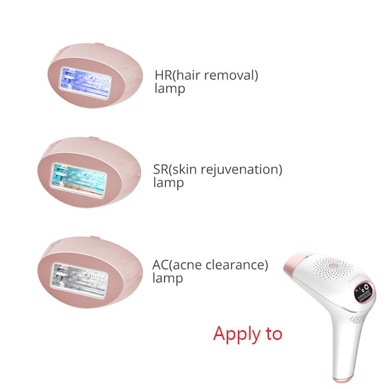 Lâmpada de quartzo para o dispositivo permanente do depilador do laser da remoção do cabelo do ipl/rejuvenescimento da pele/cabeças do afastamento da acne com 500000 tiros