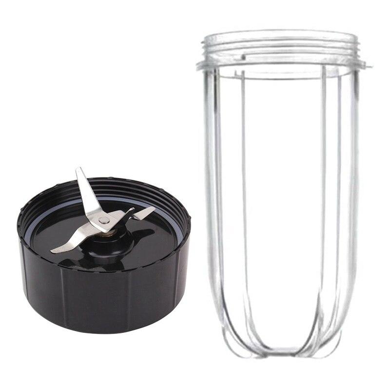 Gran oferta de reemplazo de taza mágica y cuchilla, tazas mágicas de 16 onzas y hojas extractoras Premium para modelos mágicos de 250W