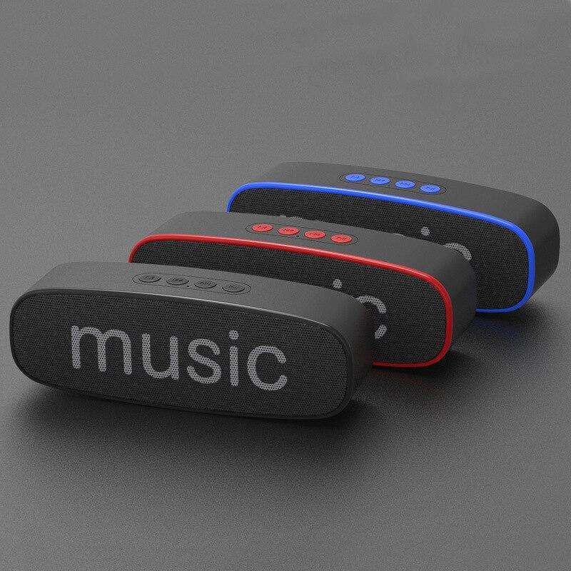 Boombox Subwoofer Altifalante Mic Portátil Alto-falantes Bluetooth Mãos Livres Sem Fio À Prova D Água Coluna Bluetooth Altavoz F4041