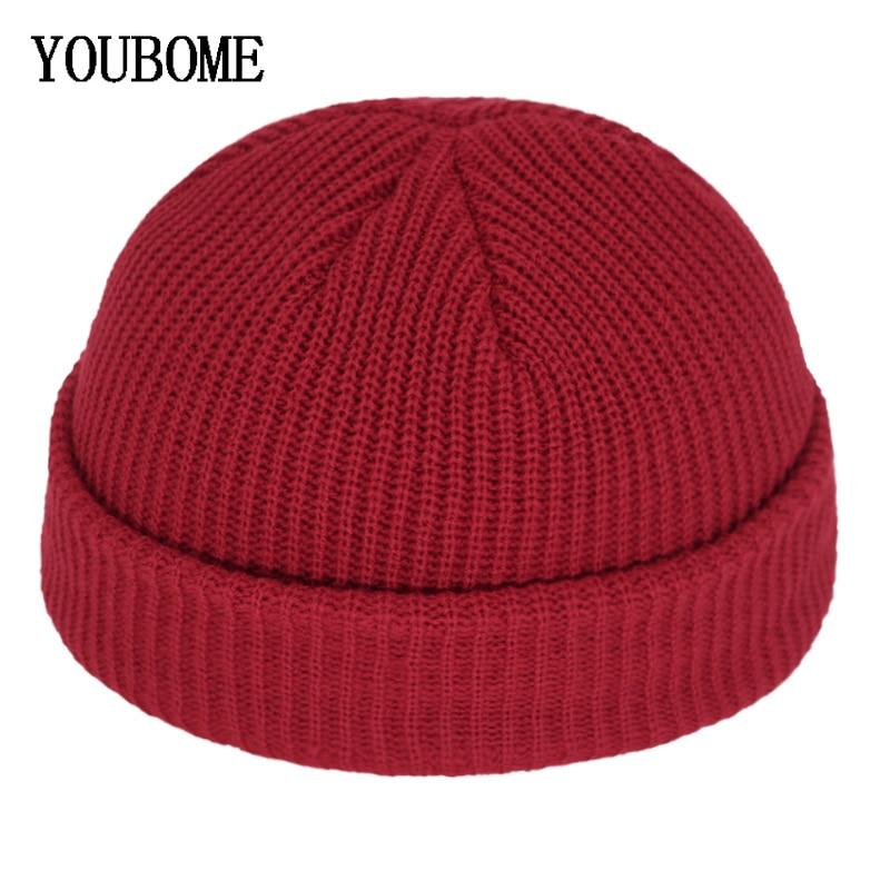 Gorros, gorros de lana de los hombres de invierno de punto sombrero las mujeres sombreros para hombres Miki Docker gorra Gorras sombrero hombre cálido gorro invierno sombrero tapa