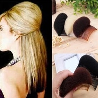 womens hair combs hair pad styling braids hairdressing tools fashion hair heightening pads hair accessories sponge fluffy hair