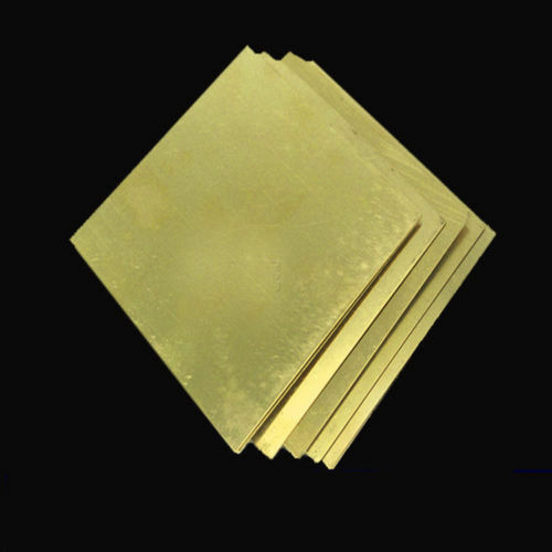 H62 Brass Copper Flat Stock Sheets Thick 0.5-3mm 50*100 100*100 100*200mm AU