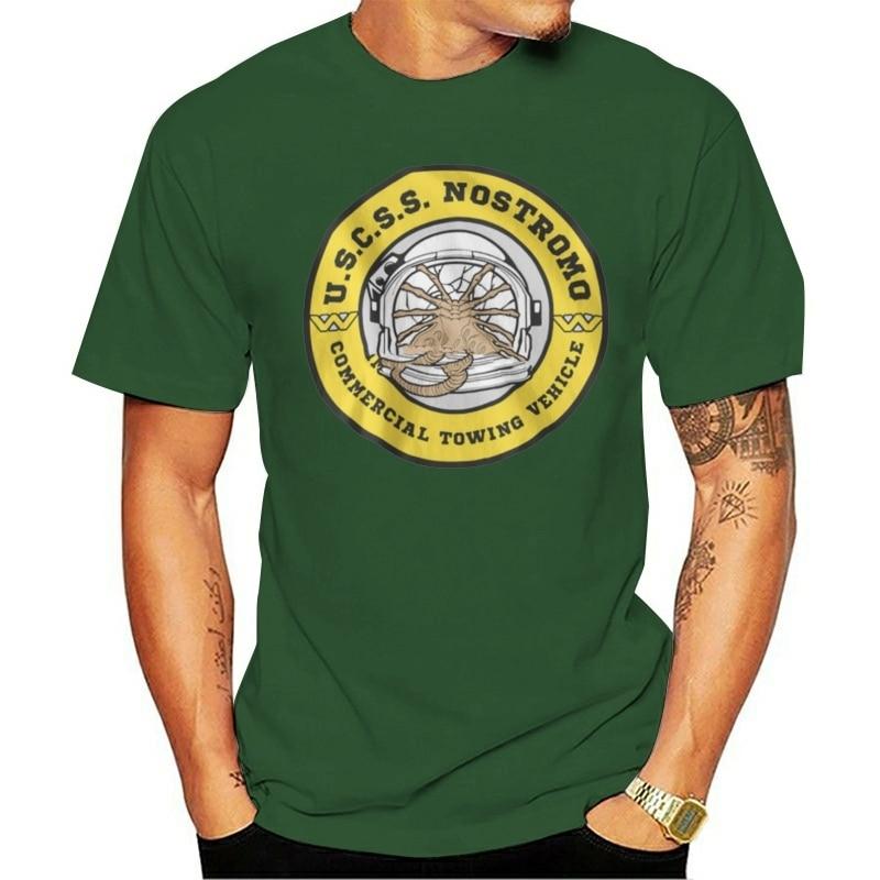 Camiseta de alienígenas Nostromo Uscss, película Retro, camiseta de película de sryland, Alien Ripley Commando(1)