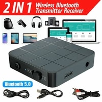 bluetooth 5 0 wireless receiver transmitter hifi rca to 3 5mm aux audio adapter transmitterreceiver adapter