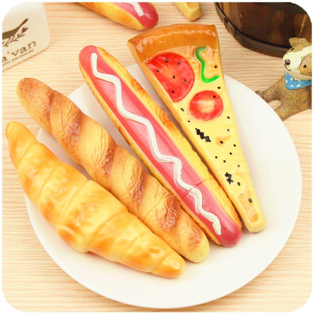 Милая Шариковая ручка, шариковая ручка, магнит на холодильник, для хот-догов, хлеба, багет, Круассанов, пиццы