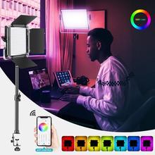 Neewer 660 Rgb Led Licht Met App Controle En Tafelblad Clip Light Stand, 660 Smd Leds CRI95/3200K-5600K/Helderheid 0-100%