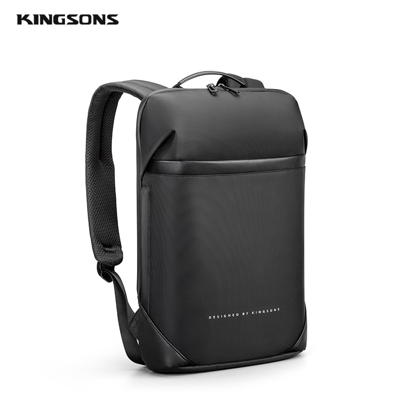 Kingsons 15.6  Inch High Quality Laptop Backpack For Men Teenager School Bag Short Trip Backpacks Fi