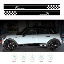 Autocollants et autocollants pour Mini Cooper R50 R53 R56 R57 R59 F55 R52 R60   2 pièces, accessoires de style Automobile pour motos