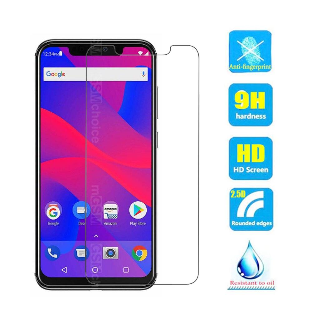 Para BLU R2 Plus 2019 vidrio templado 9H 2.5D Protector de pantalla de alta calidad funda de película de vidrio para Smartphone