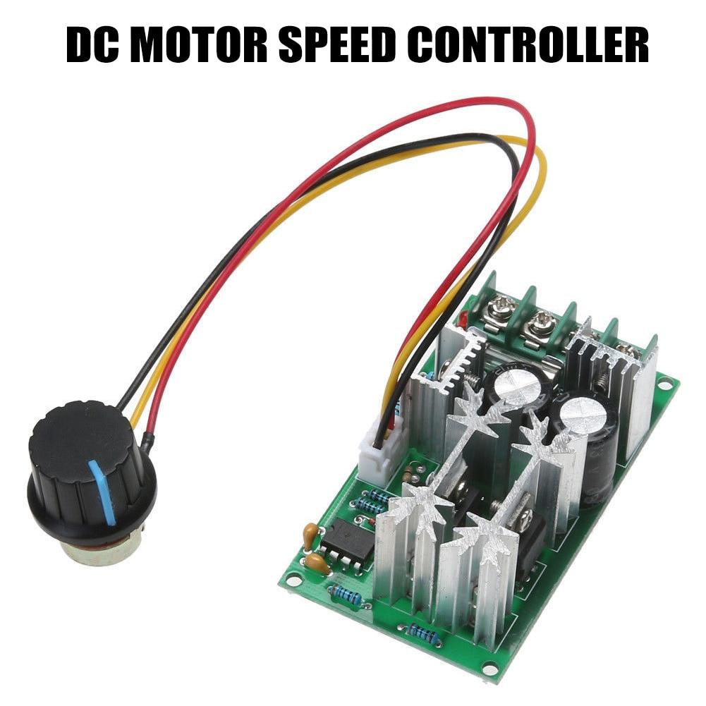 PWM модуль контроллера скорости двигателя вентилятора 1200 Вт 20A DC 12 В/24 В/36 В/48 В/60 в 25 кГц HYD88