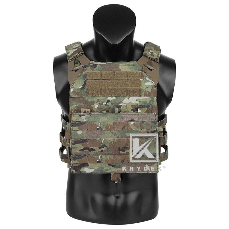 KRYDEX JPC2.0 Tactical Vest Assult Lightweight Body Armor Adjustable Cummerbund Jumpable Plate Carrier Combat Vest + MOLLE Panel