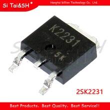 10 шт. 2SK2231 K2231 MOSFET N-CH 60В 5А TO-252