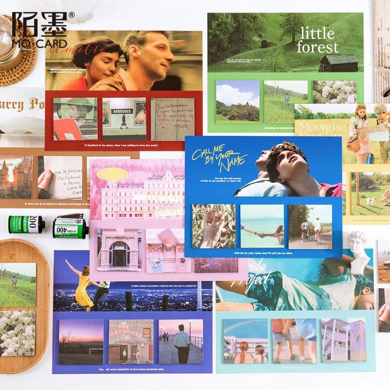 60 листов/упаковка, блокноты для записей, сериалы фильмов, в стиле Ins, литература и искусство