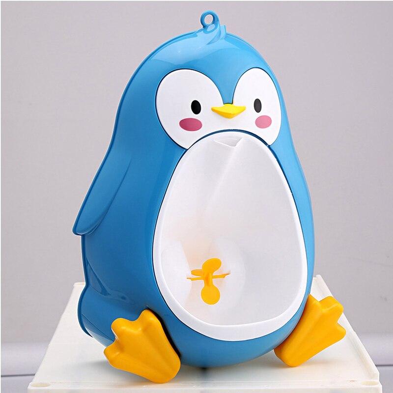 2018 niños baño inodoro pingüino orinal entrenamiento niños orinal niño Pee Trainer JUL17_20