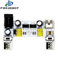 MB102 DC 7-12V MINI Interface USB platine de prototypage Module dalimentation MB-102 Module 2 canaux carte pour Arduino