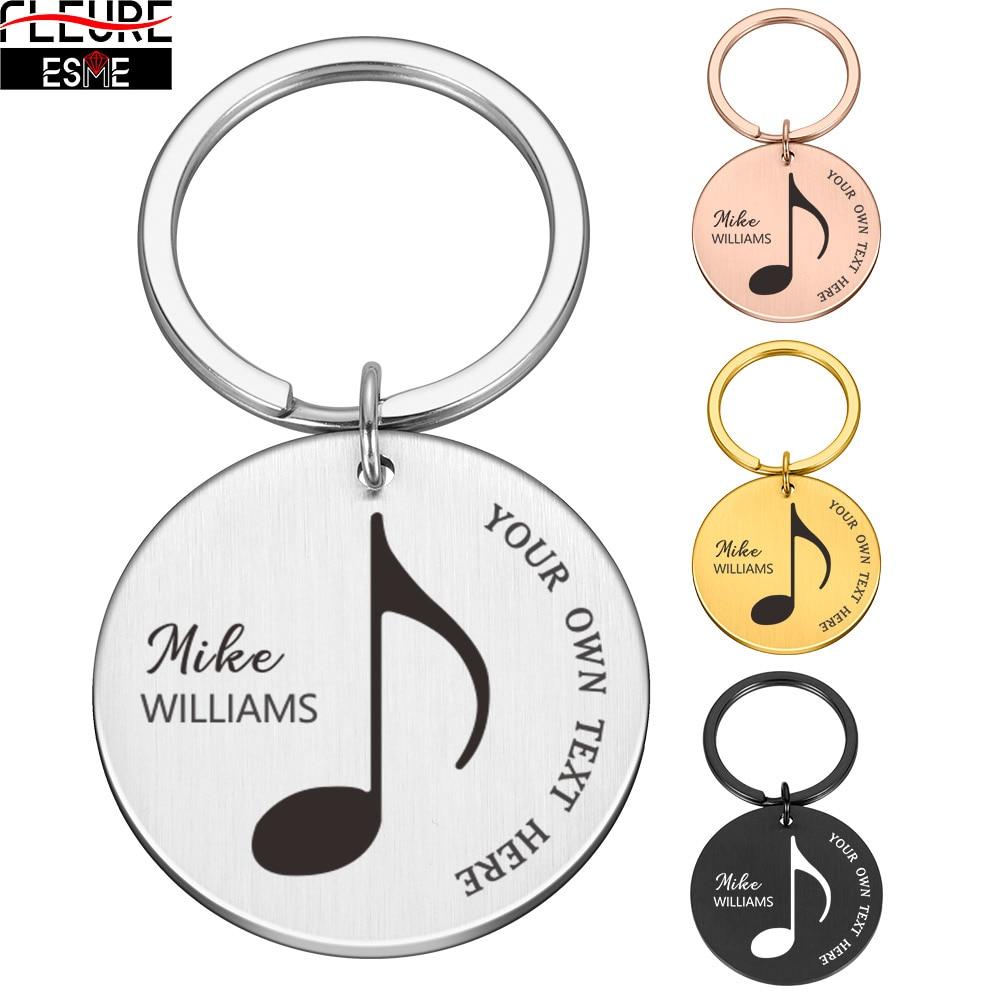 Оригинальные Брелоки для ключей, персонализированные Брелоки для ключей от машины, специальные идеи подарков