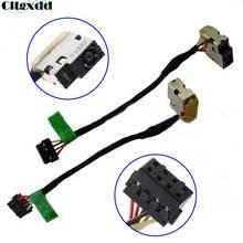 Cltgxdd remplacement prise dalimentation cc prise de Port pour HP pavillon P/N 709802-YD1 CBL00360-0150 719859-001 P20 ordinateurs portables connecteur
