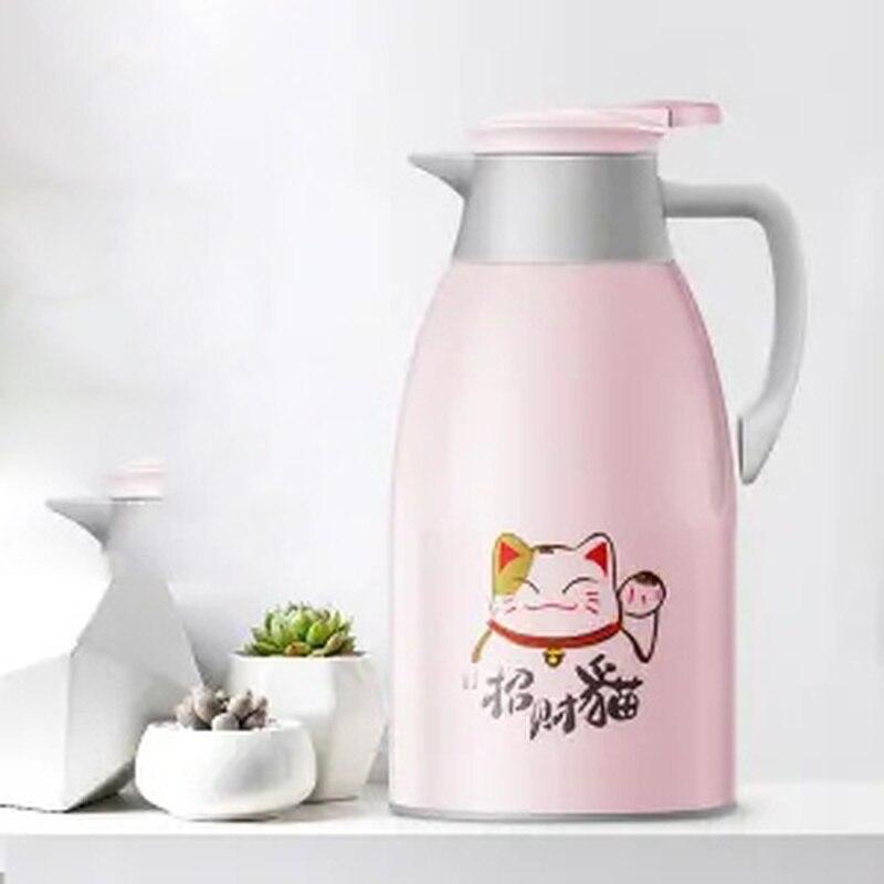 العزل وعاء سعة كبيرة زجاجة الماء الساخن المنزلية غلاية كوب قارورة عازلة الترمس طالب عنبر الترمس في الهواء الطلق