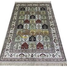 Red Living Room Turkish 100% Natural Silk Handmade Persian Area Rugs Carpet