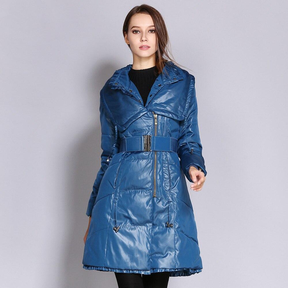 Модный однотонный пуховик средней длины, Женская куртка, женские пальто и куртки, зимняя женская куртка с длинным рукавом