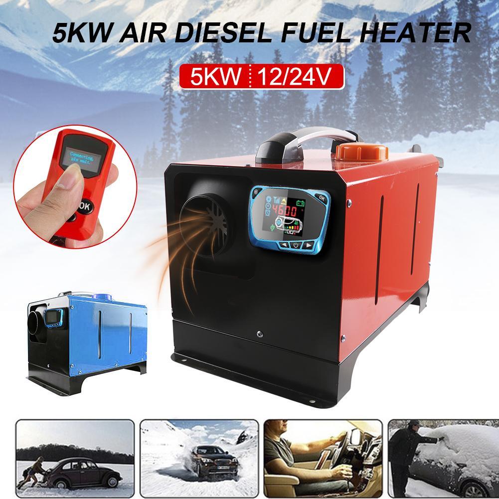 Diesel Standheizung 5KW 12V 24V Auto Heizung Parkplatz Kraftstoff Luft Heizung Mit Auto Heizung Warme Trockner Glas defroster Fenster Heizung
