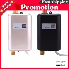 3800W Electric Water Heater Instant Mini Tankless Water Heater Instant  Water Heating Shower  for Ki