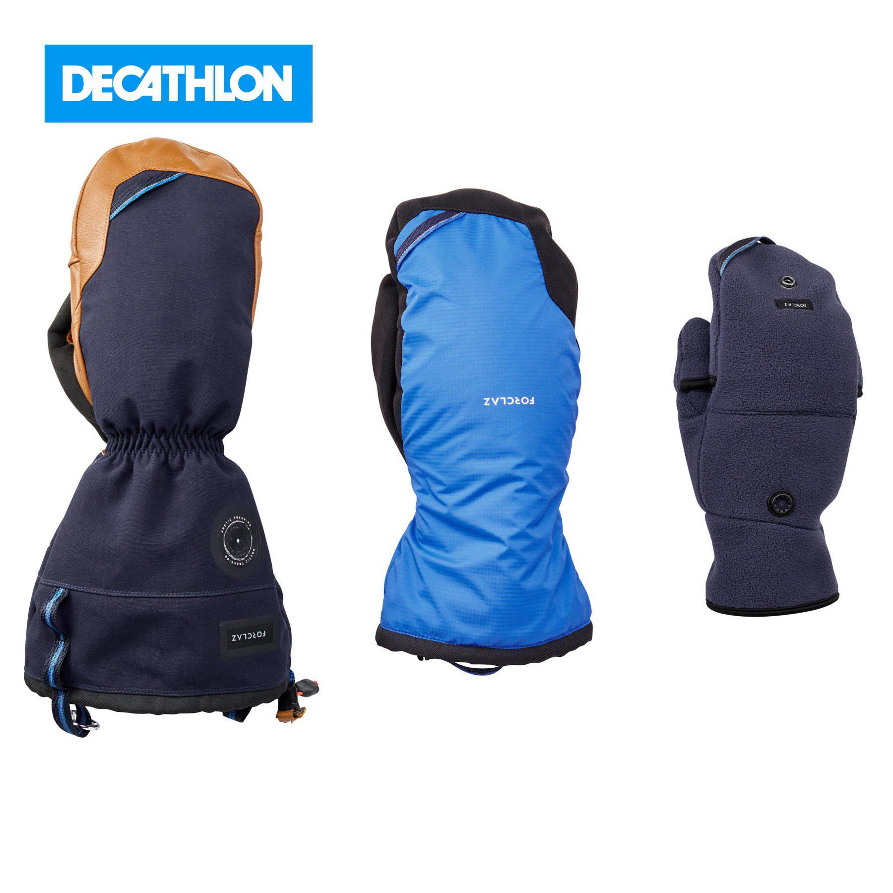 Варежки митенки для треккинга ARCTIC 500 FORCLAZ x Decathlon Перчатки для походов      АлиЭкспресс