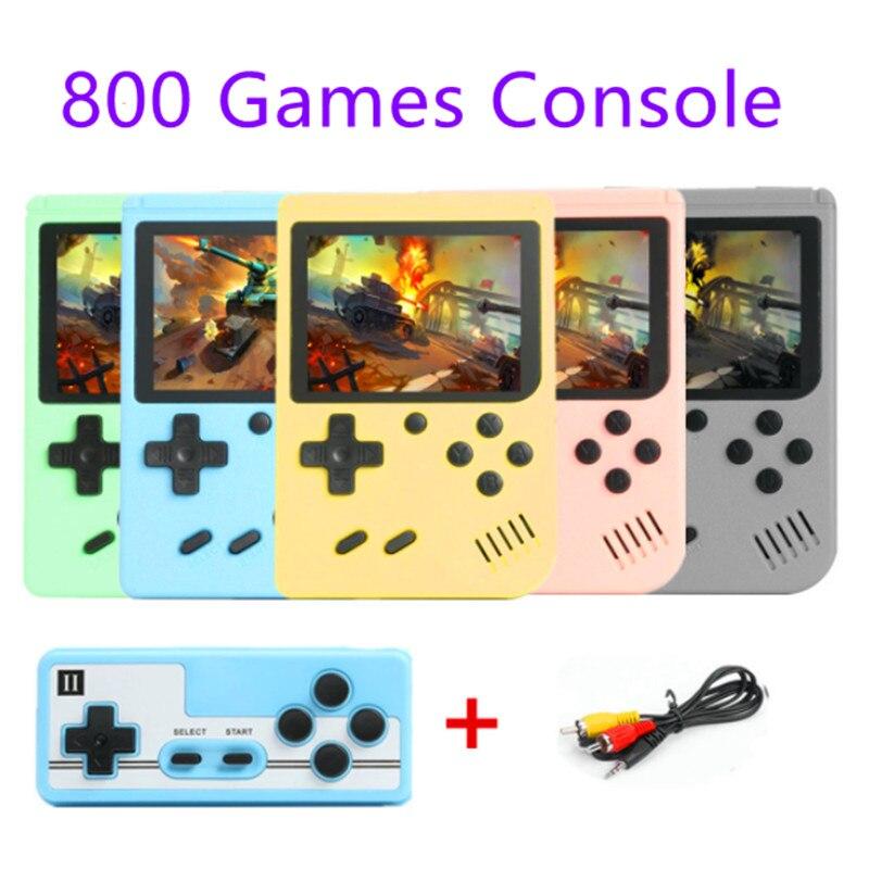 Новинка 800 в 1 портативная игровая консоль в стиле ретро портативная Карманная игровая консоль мини портативная игровая консоль для детей п...